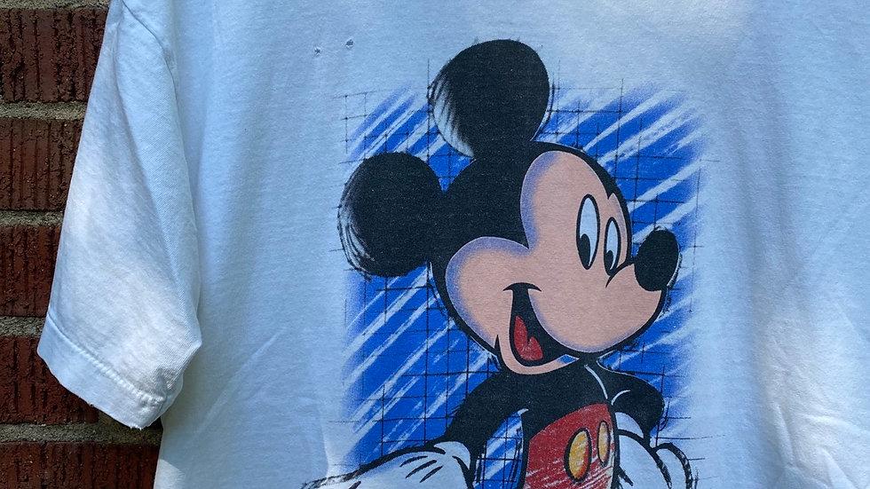 90's Illustrated Mickey Tee