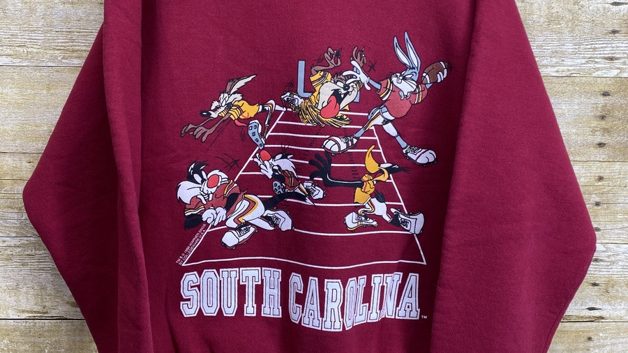 South Carolina Looney Toons Crewneck