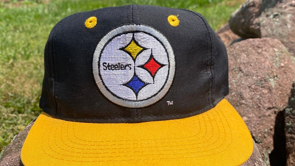90's Youth Steelers Snapback