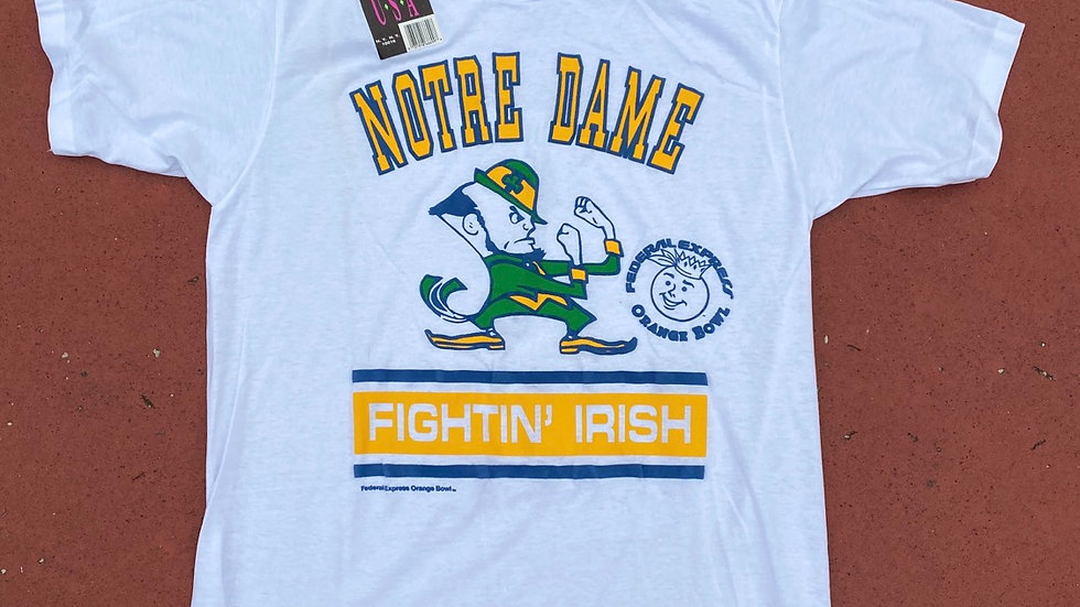 90's Notre Dame Tee