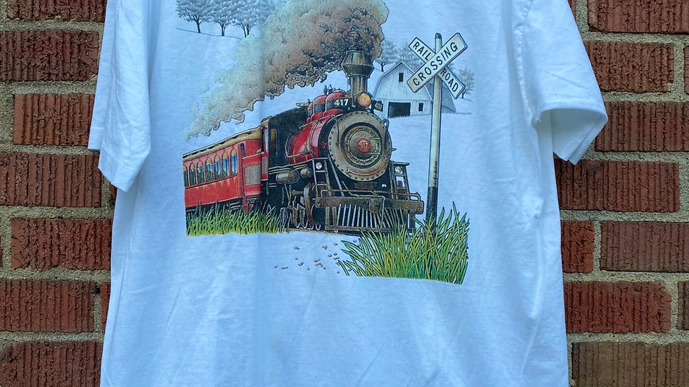 90's Railroad Tee