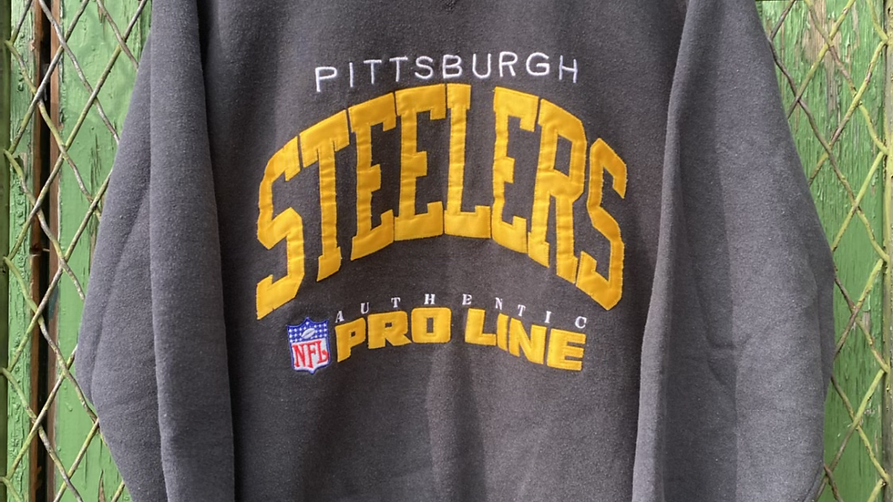 Steelers Russell Athletic Crewneck