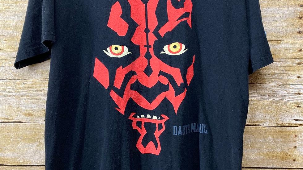 Darth Maul Big Face Star Wars Tee