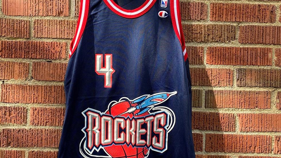 Charles Barkley Rockets Champion Jersey Size 40