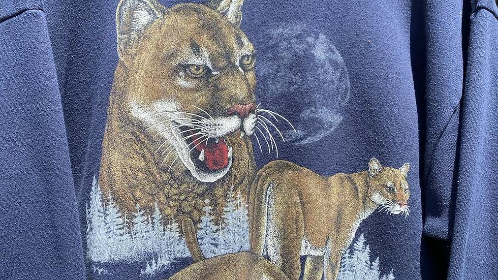 90's Mountain Lion Crewneck
