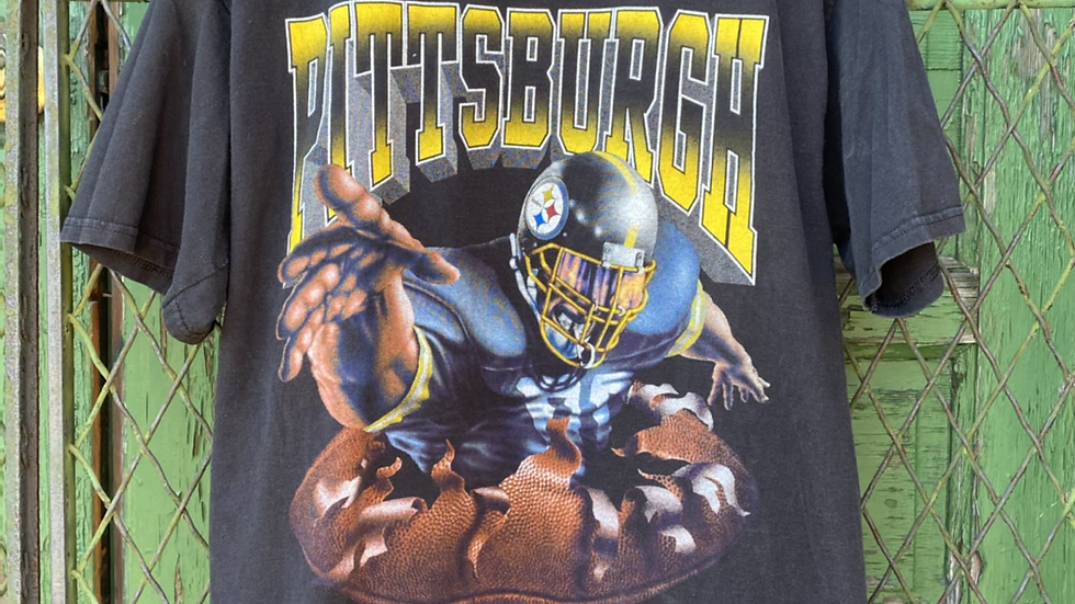 90's Double Sided Steelers Tee