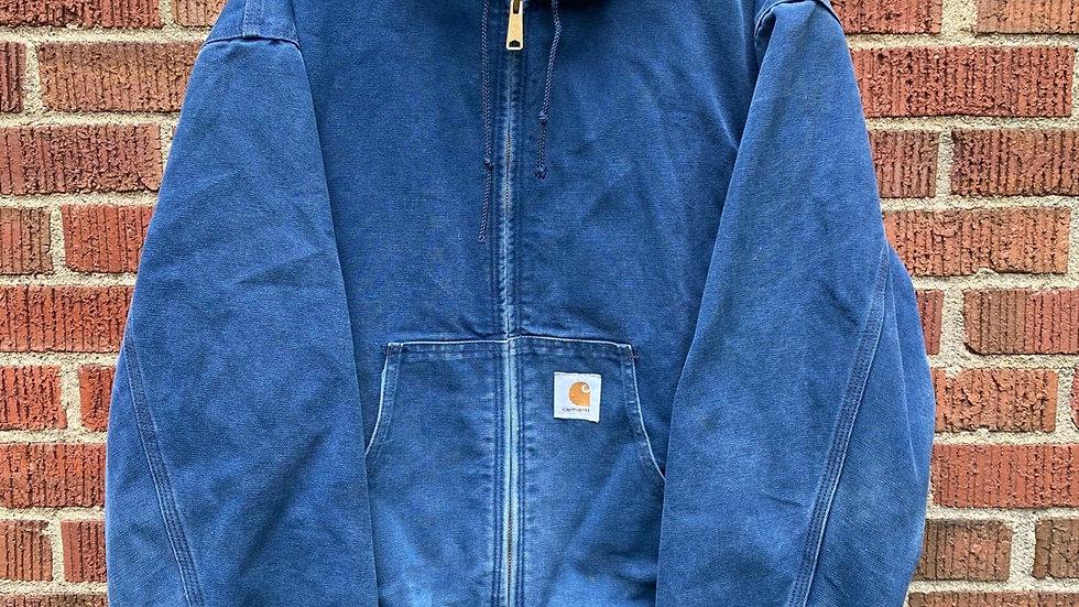 90's Hooded Blue Carhartt