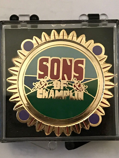 Sons of Champlin Pin