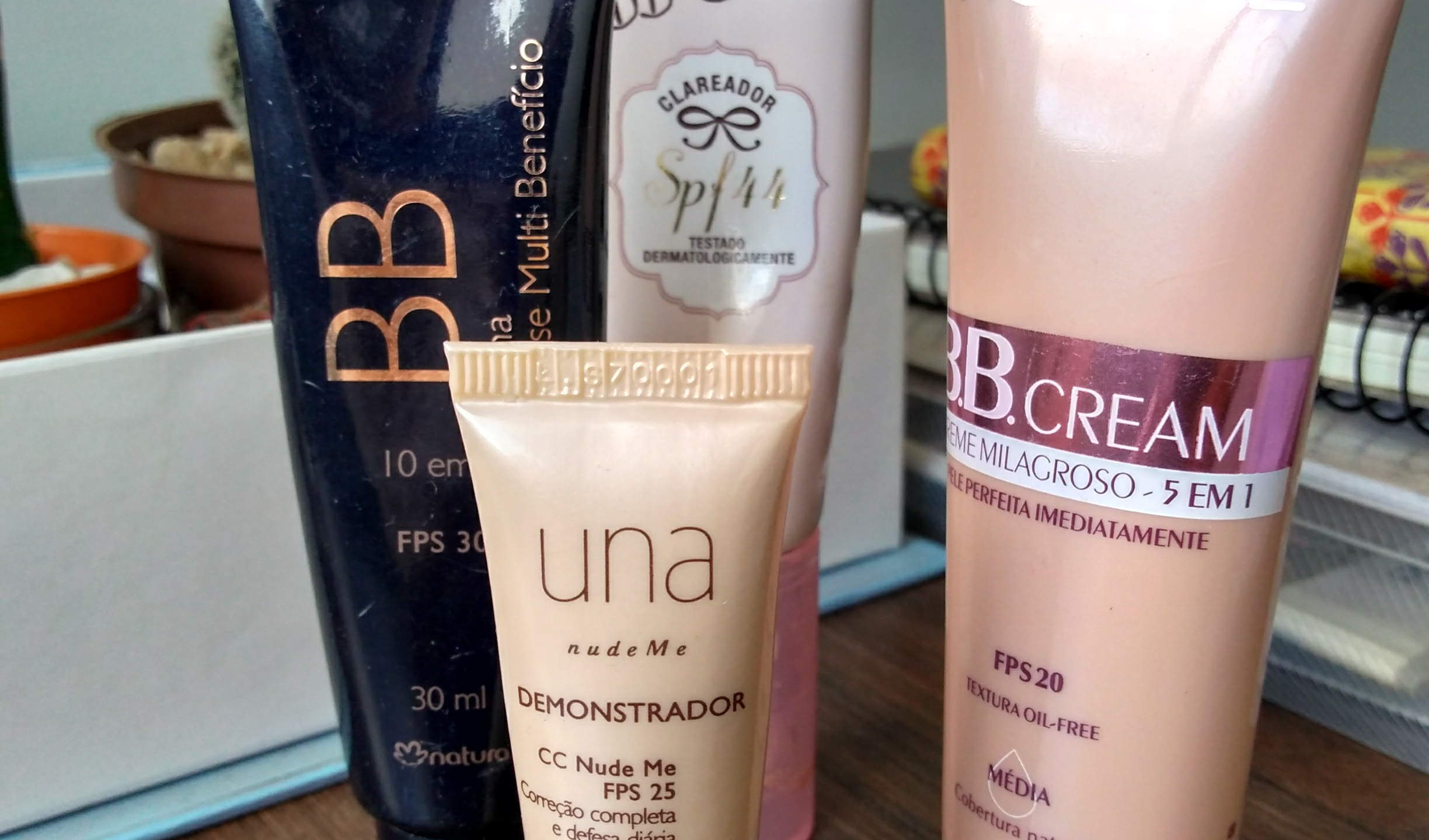 BB Cream ou CC Cream