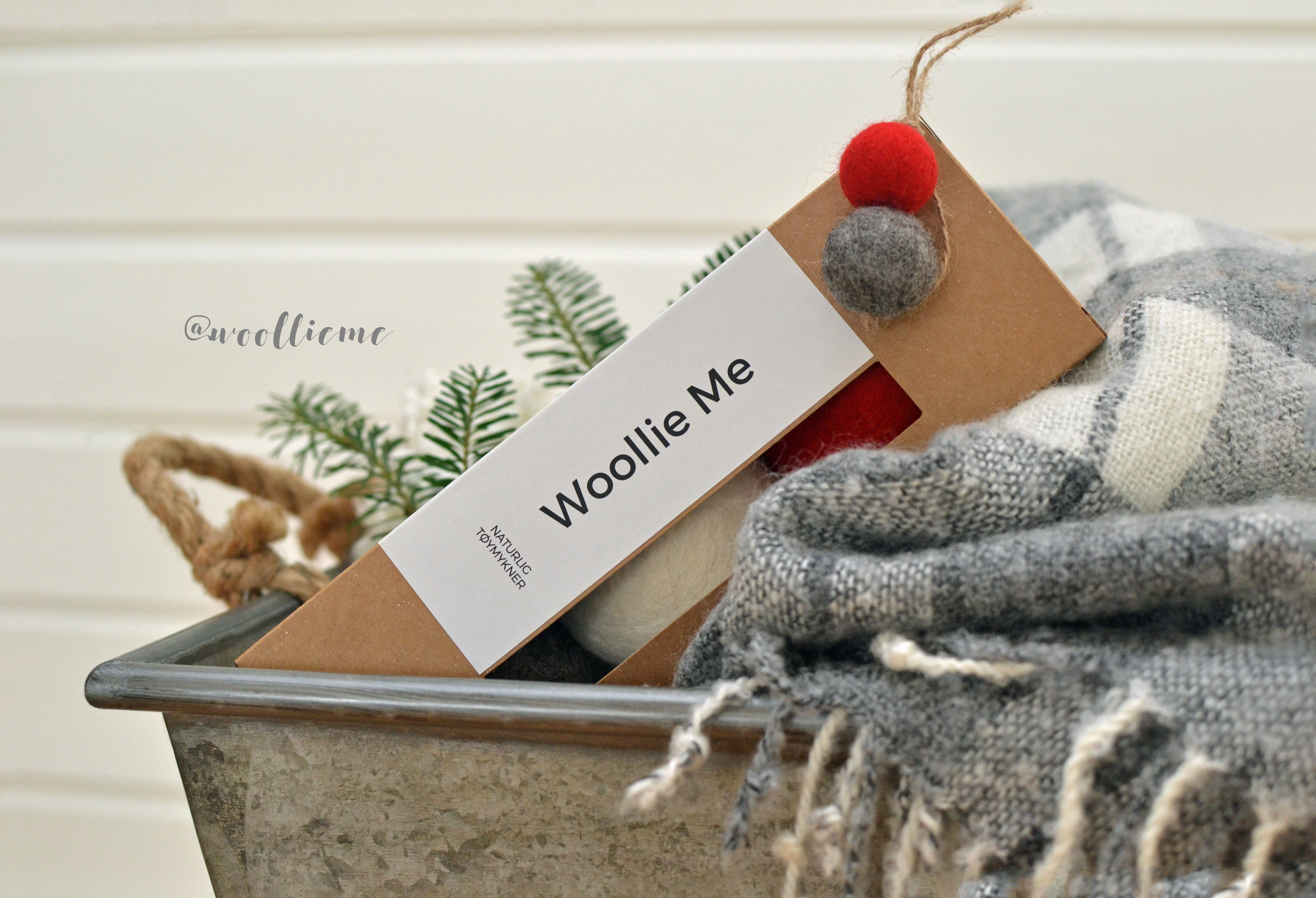 Woollie Me Christmas Dryer Balls
