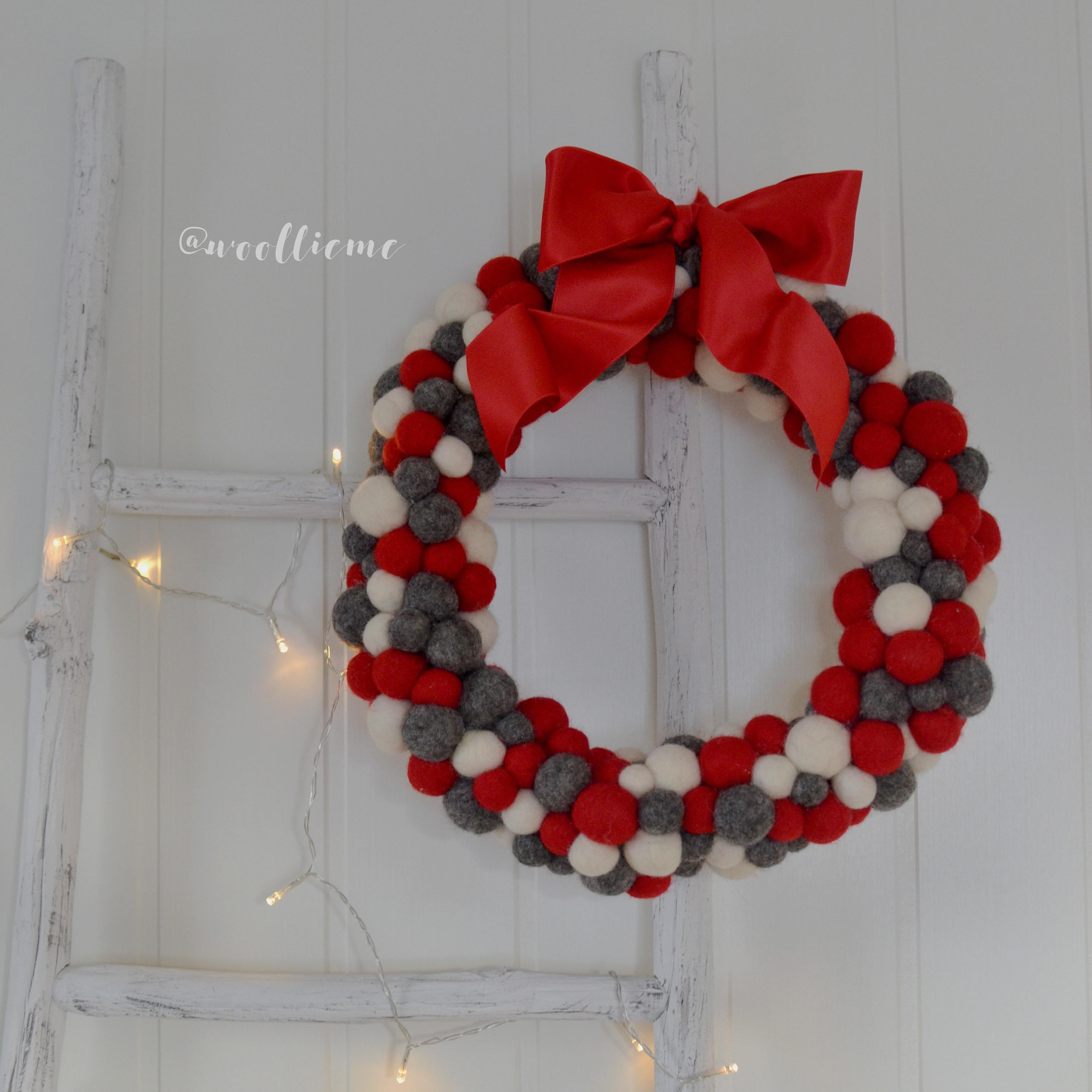 Woollie Me Christmas Wreath