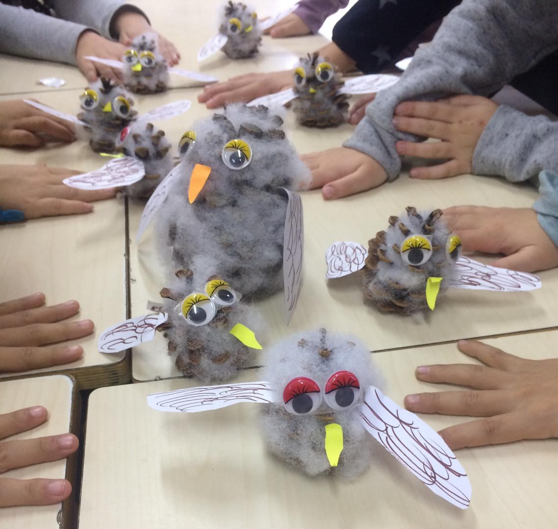 Owl Babies craft
