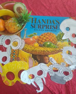 Handa's Surprise craft
