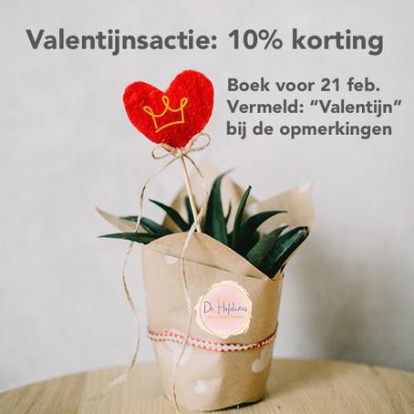 Valentijnsactie bij De Hofdames