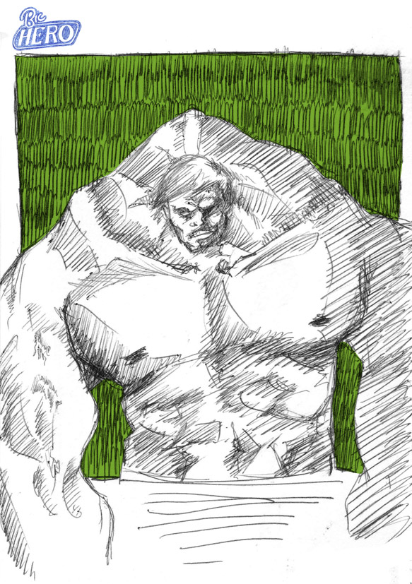 Bic Hero : The Hulk