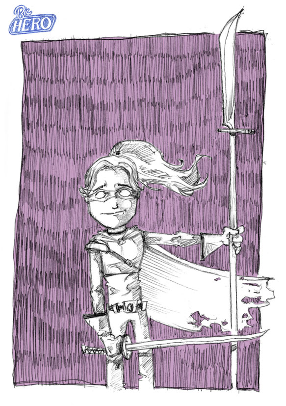 Bic Hero : Hit Girl
