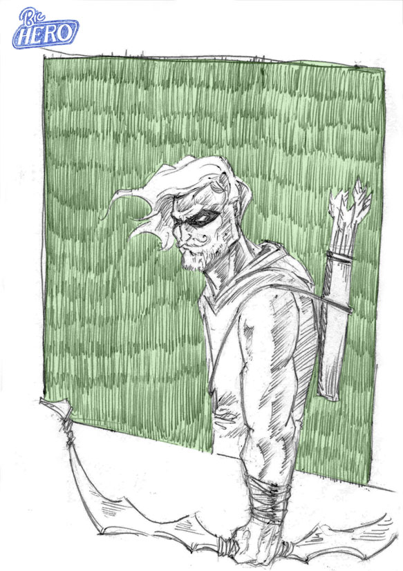 Bic Hero : Green Arrow