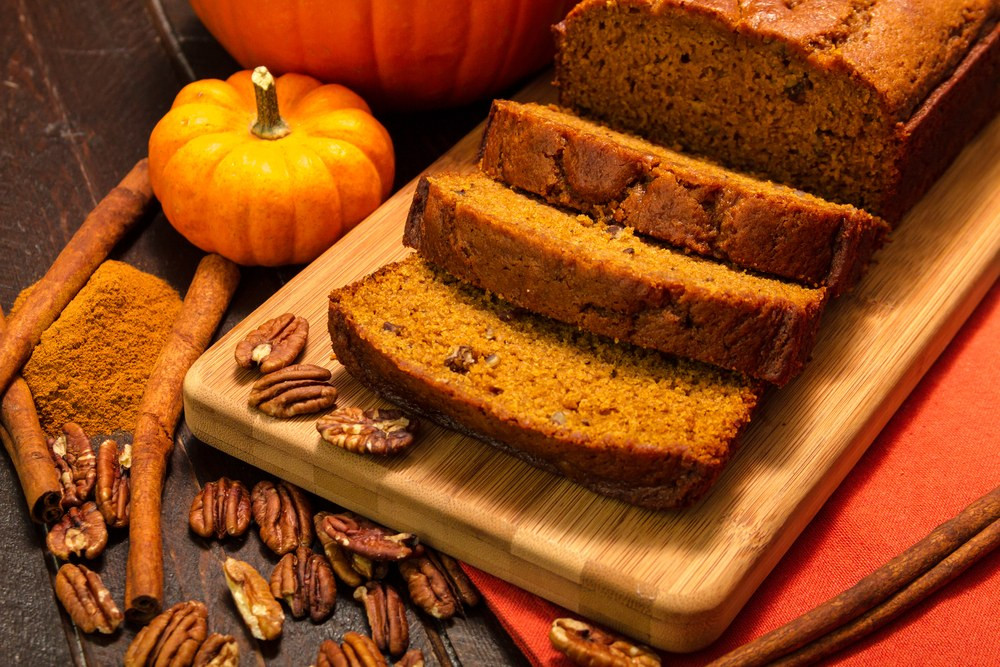 Epicurious Spiced Pumpkin Bread