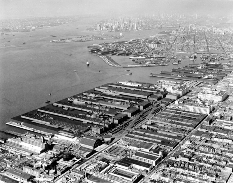 Open Images: Bush Terminal c. 1955 - Library of Congress