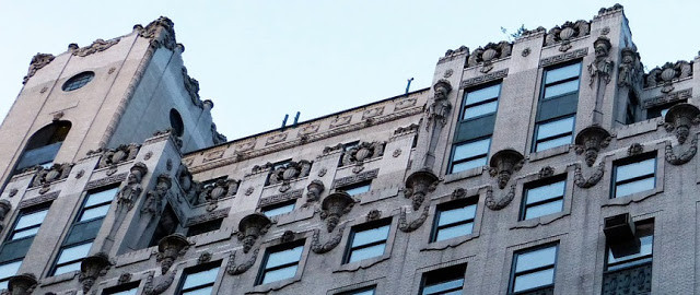 High above 57th Street were the lavish apartments of Edna Champion and Charles Brazelle -- photo by Alice Lum