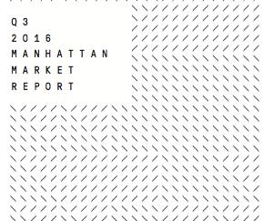 Manhattan Q3 2016 Market Reports