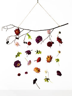 Contemporary Dried Wreath