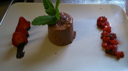 Schokoladenparfait