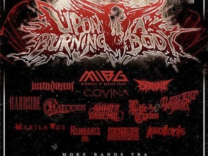 Next show w/ UPON A BURNING BODY!! Holiday Metal Party - Saturday, December 10th