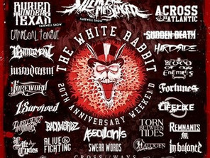 "Massive ""White Rabbit"" 20th Anniversary show 28 August w/ Upon A Burning Body and more!"