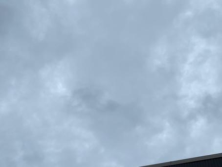 曇りですね☁️〜