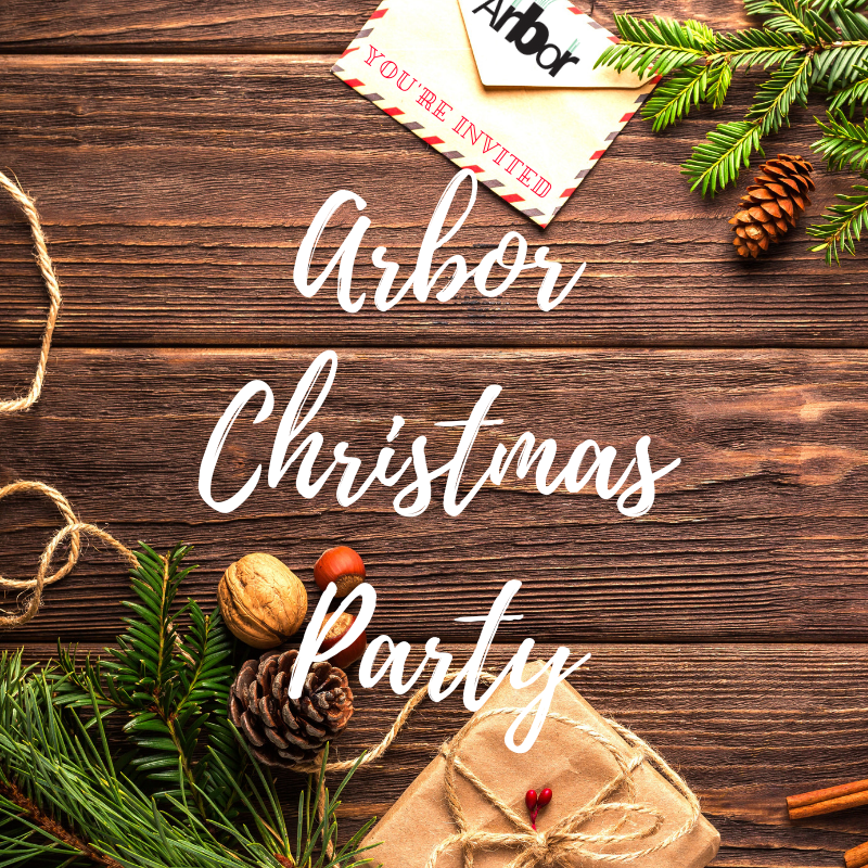 Come To Arbor's Christmas Party!