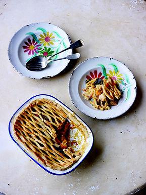 Thai Chicken Pie