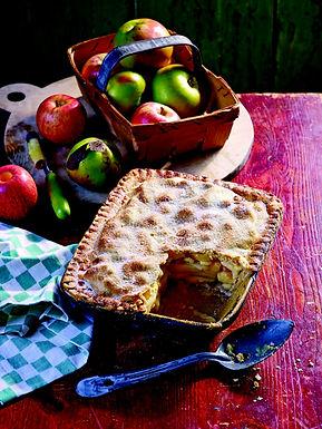 Apple & Wensleydale Pie