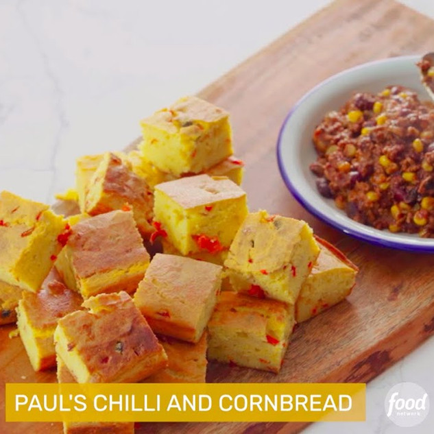 Paul Goes to Hollywood - Chilli Cornbread