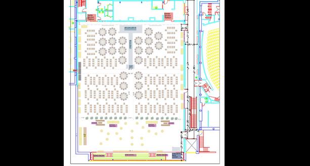 Plan de salle- Brébeuf