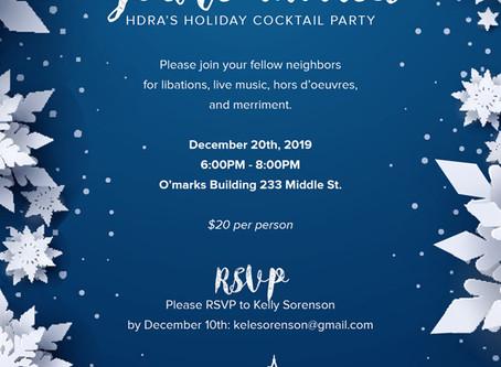 HDRA Holiday Party