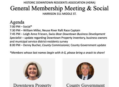 HDRA General Membership Meeting