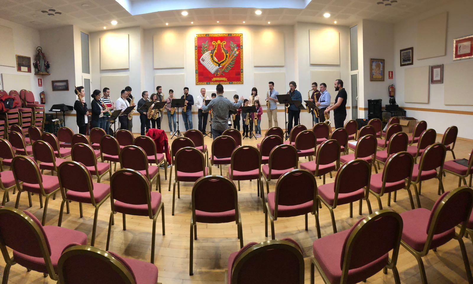 Alumnos Encuentro Saxofones