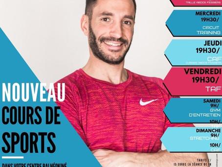 Cours de Sport 2020/2021