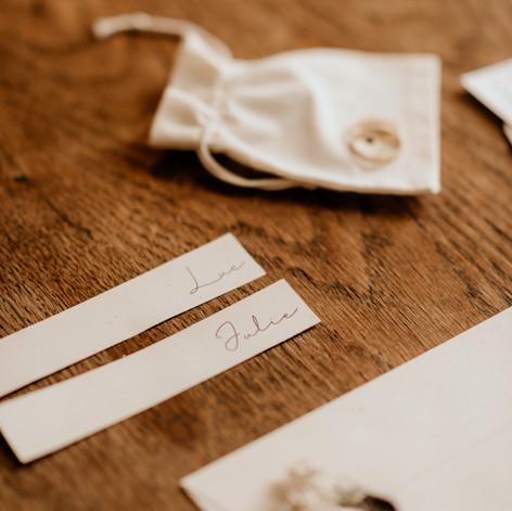 papeterie et cadeaux d'invités mariage eco responsable