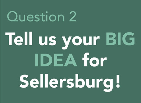 Tell us your BIG IDEA for Sellersburg!
