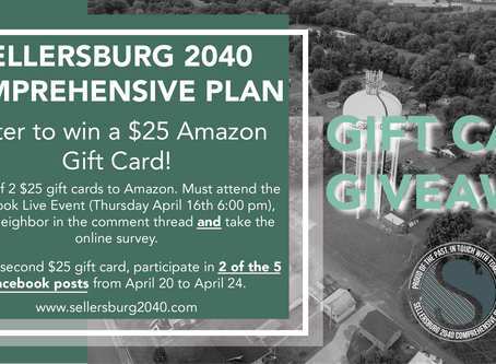 Take a break from the news and participate in directing the future of Sellersburg!