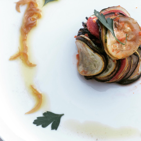 Confit Byaldi, from Disney's Ratatouille