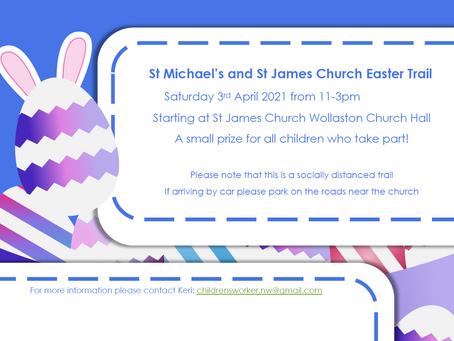 Easter Egg Trail - 3rd April 2021