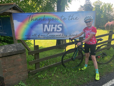 100km bike ride for charity!