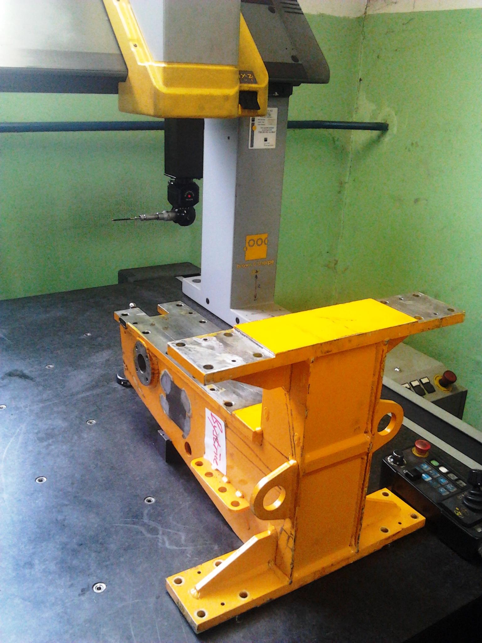 Počítačévě řízený měřící stroj-Nosič