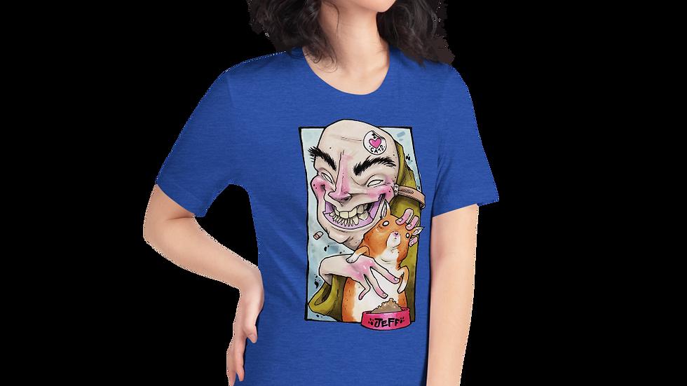 CAT PERSON Short-Sleeve Unisex T-Shirt