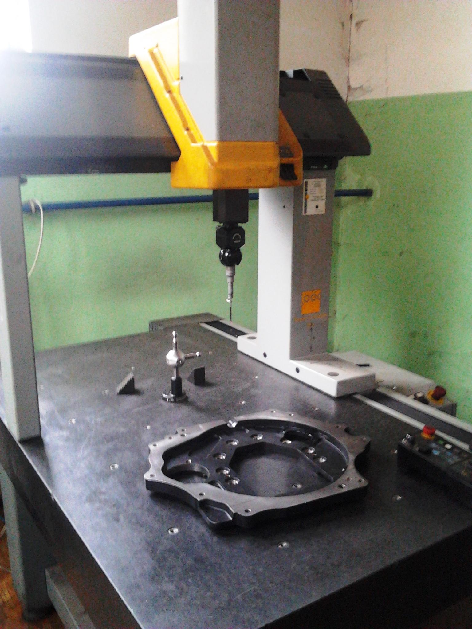 Počítačévě řízený měřící stroj-Příruba