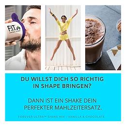 Shake_Mahlzeitersatz_ForeverUltraShake_W