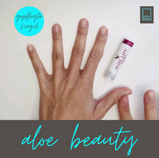 Aloe Lips: Trockene Nagelhaut